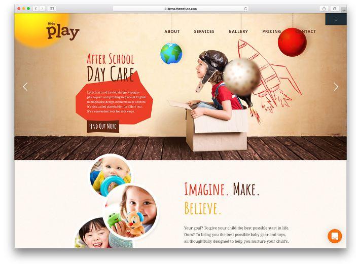 Kids Play - Khai thác chủ đề trẻ nhỏ vui chơi trong nhà