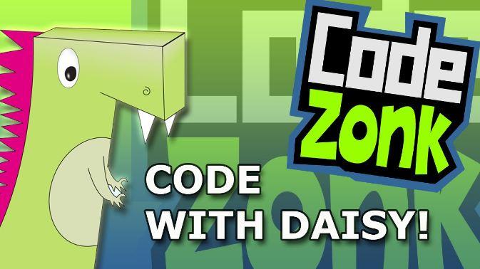 Daisy the Dinosaur - ngôn ngữ lập trình cho trẻ em thú vị