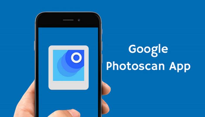 Phần mềm scan ảnh trên điện thoại - Photoscan